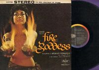 Edwards, Webley - Fire Goddess Capitol 1033 Vinyl LP Record