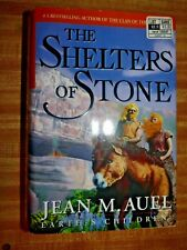 JEAN M. AUEL EARTH'S CHILDREN THE SHELTERS OF STONE H/C D/J FIRST EDITION