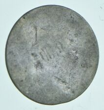 RARE Silver Trime Worn Date Three Cent Silver 3 Cent Early US Coin Look up! *059