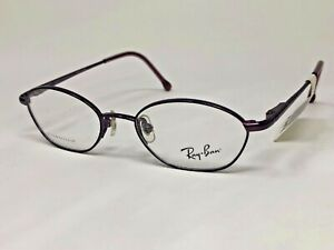 RAY-BAN JR TITANIUM Eyeglasses Frame RB1004 3006 43-16-120 Purple Polish BA15