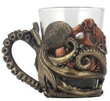 "3"" Steampunk Octopus Shot Glass w/ Handle Gothic Unique Barware Home Decor"