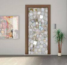 Door Mural Self Adhesive Vinyl Decal Wall Sticker Fridge Decal crystals