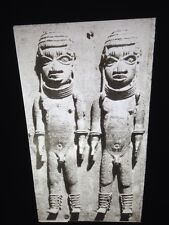 Benin- Relief Bronze Plaque-African Nigerian Tribal Art 35mm Slide
