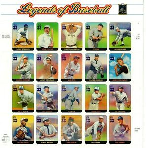 Scott 3408 33¢ Legends of Baseball MNH Free shipping in the US