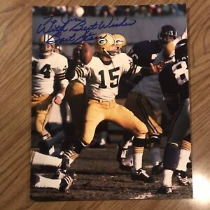 Bart Starr Green Bay Packers autographed 8X10 Photo