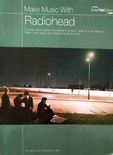 Radiohead Guitar Tablature / Make Music / Radiohead Guitar Tab Songbook
