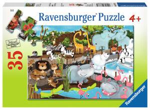 Ravensburger Day at the Zoo 35 pcs Jigsaw Puzzle 4+