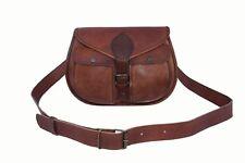 Retro Womens Vintage Genuine Leather Messenger Shoulder Cross Body Bag