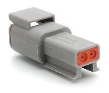 Deutsch DTM04-2P Connectors package of 100 pieces