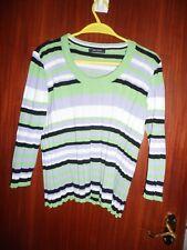 ladies striking Carlo Colucci jumper cotton blend size 12 (40)