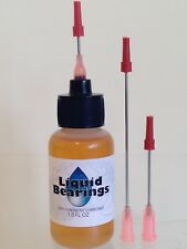 Liquid Bearings 100%-synthetic oil w/Xl needle for Faster Rollerblades, skates!