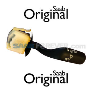 SAAB 900 Windshield Wiper Switch 1996-98 NO REAR WIPER NEW GENUINE OEM 4692794