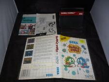 MASTER SYSTEM Bubble Bobble - per Console Sega Master System MS - PAL ITA