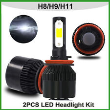 2PCS LED Headlight Kit H11 H8 H9 800W 336000LM Plug&Play 6000K CREE 2 Bulbs