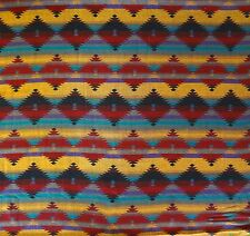 Disney Mexican Pavilion / Coronado Resort Fabric Aztec Print By the Yard 62.5 W