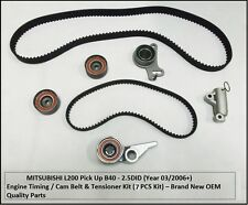 MITSUBISHI L200 PICK UP b40-2.5 DID ENGINE TIMING Cinghia e tensionatore KIT (03/2006 +)