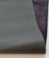 Negro Cuero Perforado offcuts piezas artesanales Cuero Italiano De Calidad Superior