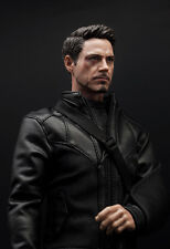 Supreme 1/6 Scale Civil War Tony Stark Battle Damage Version Head Sculpt