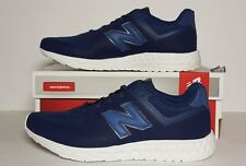 NEW BALANCE MEN'S LIFESTYLE SIZE 9.5 FRESH FOAM RUN NAVY/WHITE NEW/BOX MFL574BB