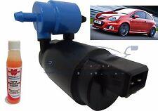 Front & Rear Windscreen Washer Pump Vauxhall Corsa D 2006> + Screen Wash