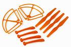 Combo 12PCS Syma X8C RC Quadcopter Propeller Landing Gear Frame Guard Orange