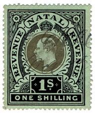 (I.B) Natal Revenue : Duty Stamp 1/- (1910)
