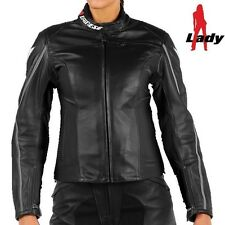 Dainese SF Pelle Lady Leather Jacket- Black/SIZE 42