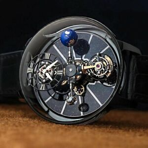 All New Men' Luxury Future Innovation Solar System Planets Watch Limited Edition