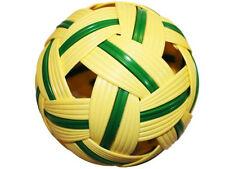 RATTAN BALL SEPAK TAKRAW KICK VOLLEYBALL NEW TRAINING SPORT GAME FREE SHIPPING