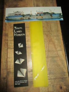 Marque pages collectors-Lot de 2-Thème mariniers,naval-cercle naval Cherbourg