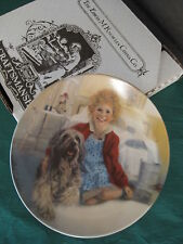 """1983 Annie and Sandy Collector Plate by Knowles 8-1/2"""" Inches"""