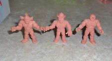 M.U.S.C.L.E. MEN 3 Figure Lot  - Group T -  Muscles Muscle pvc figures
