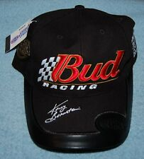 Bud Racing Kenny Bernstein Limited Edition #1594 of 2002 Baseball Cap, New