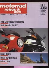 Motorradzeitschrift Motorrad Reisen Sport Ausgabe 13/1989