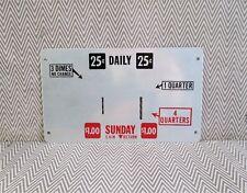Vintage Newspaper Vending Box Coin Plate (D)
