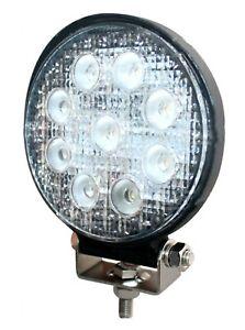 Spotlamp, Worklamp, Tunnel lamp, 27w 9 LED, 2100 lumen, 10v to 30v DC   172263
