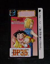 DRAGON BALL Z GT DBZ HONDAN PART 16 CARDDASS BP CARD CARTE 645 BANDAI JAPAN 1993