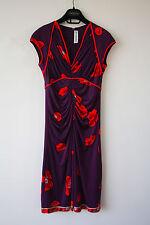 Authentic silk jersey Leonard Paris dress 36 France