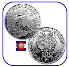 2012 Armenia 1/4 oz Silver 100 Drams Noah's Ark Coin