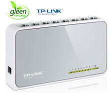 Netzwerk Switch 8 Ports TP-Link TL-SF1008D 10/100 Mbit DSL LAN Ethernet Hub