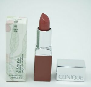 Clinique Pop Lip Colour Lipstick 0.1oz/02 Bare Pop