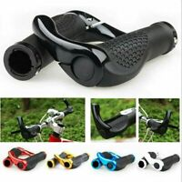 1 Pair Bar End Handlebar Grips Lock-On End Bicycle Mountain Bike MTB Ergonomic