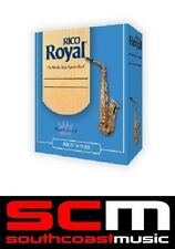NEW RICO ROYAL TENOR SAXOPHONE 3.5 REEDS BOX OF 10 TO CLEAR SAX REED