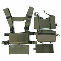 TMC Hunting Tactical Airsoft Vest Modular Chest Rig Set TMC3115- RG