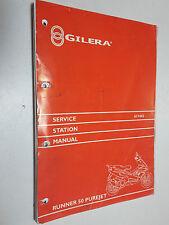 Original Gilera Runner 50 Purejet-Taller De Estación De Servicio Manual De Reparación