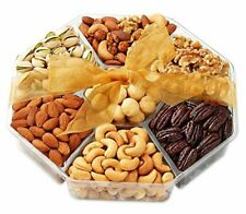 Holiday Nuts Gift Basket - Gourmet Food Gifts Prime Delivery - Christmas,