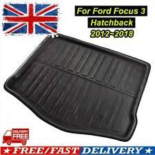 UK For Ford Focus MK3 2011-2018 Heavy Duty Boot Mat Floor Liner Tray 5Door Hatch