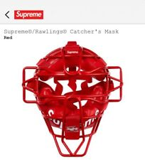 Supreme Rawlings Catchers Mask Red New Ss18 *In Hand*