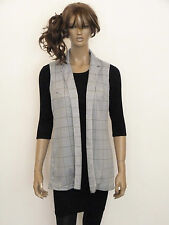 Unbranded Check Hip Length Casual Coats & Jackets for Women
