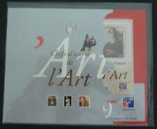 Bloc n°23 1999 Chefs d'oeuvre de l'Art (variante grise)